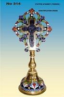 Sanctification Cross Russian Design - 314