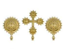 Cherubim Sets A Gold Plated