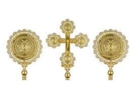 Cherubim Sets Molten Gold Plated
