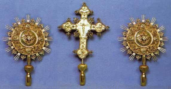 Ecclesiastical Exapterigon Set 2