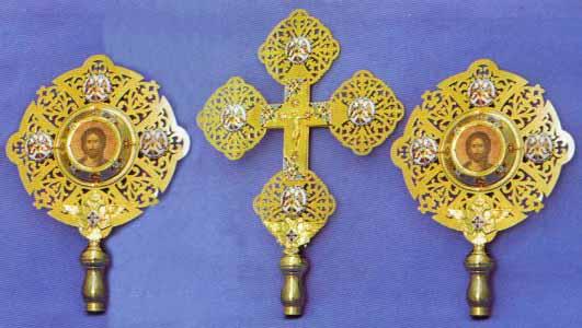 Ecclesiastical Exapterigon Set 4