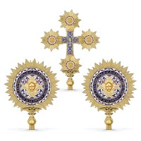 Procesional Fans and Cross Enamel Rays