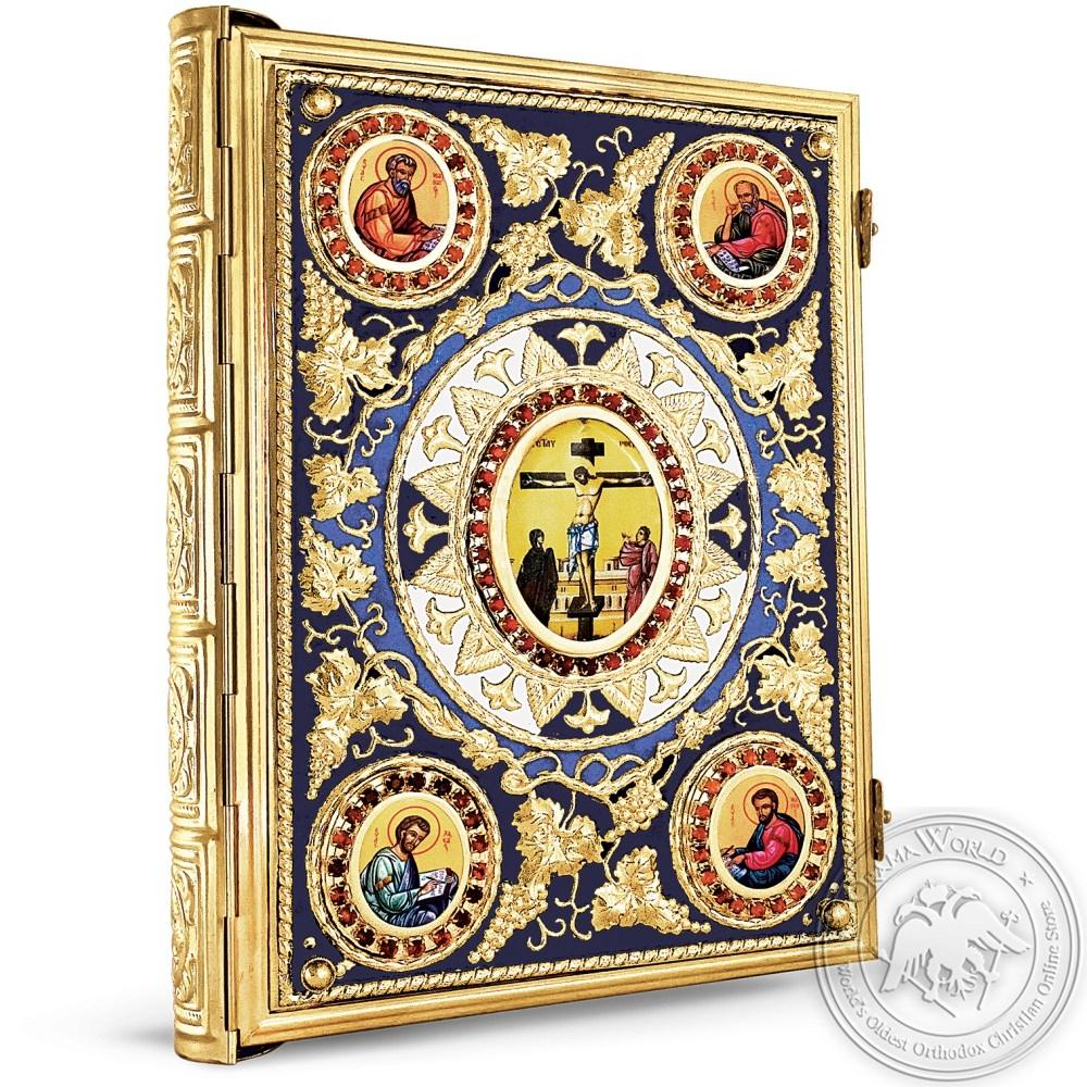 Gospel Enamel Gold Plated