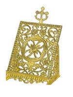 Icon Stand For Gospel Aluminum Cross