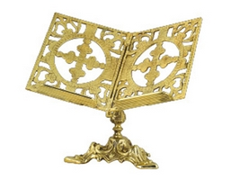 Icon Stand For Gospel Bronze A
