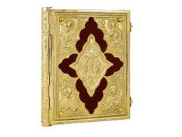 Gospel Cut Cross Gold Plated