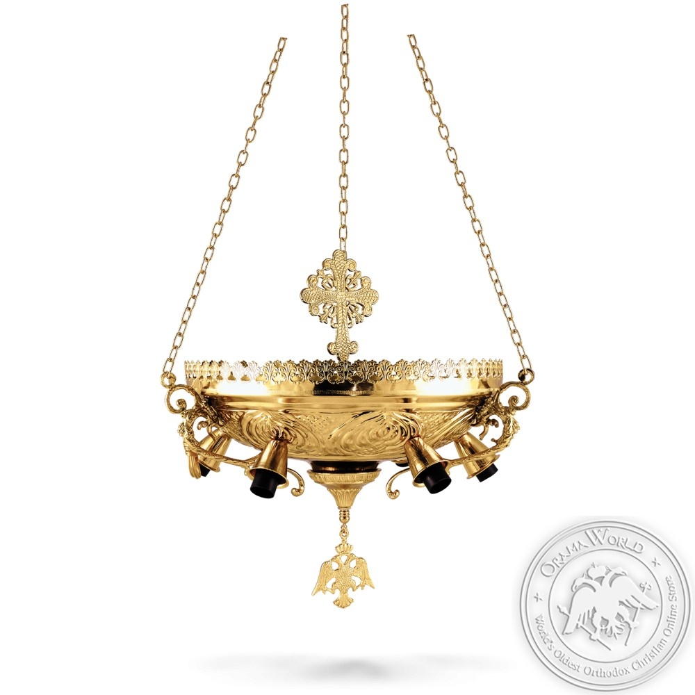 Lantern for Altar Gold Plated