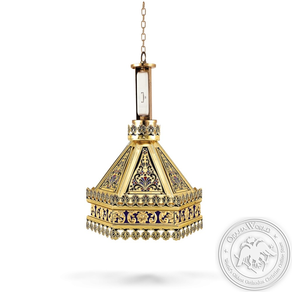 Lantern for Psalter Enamel Patmos