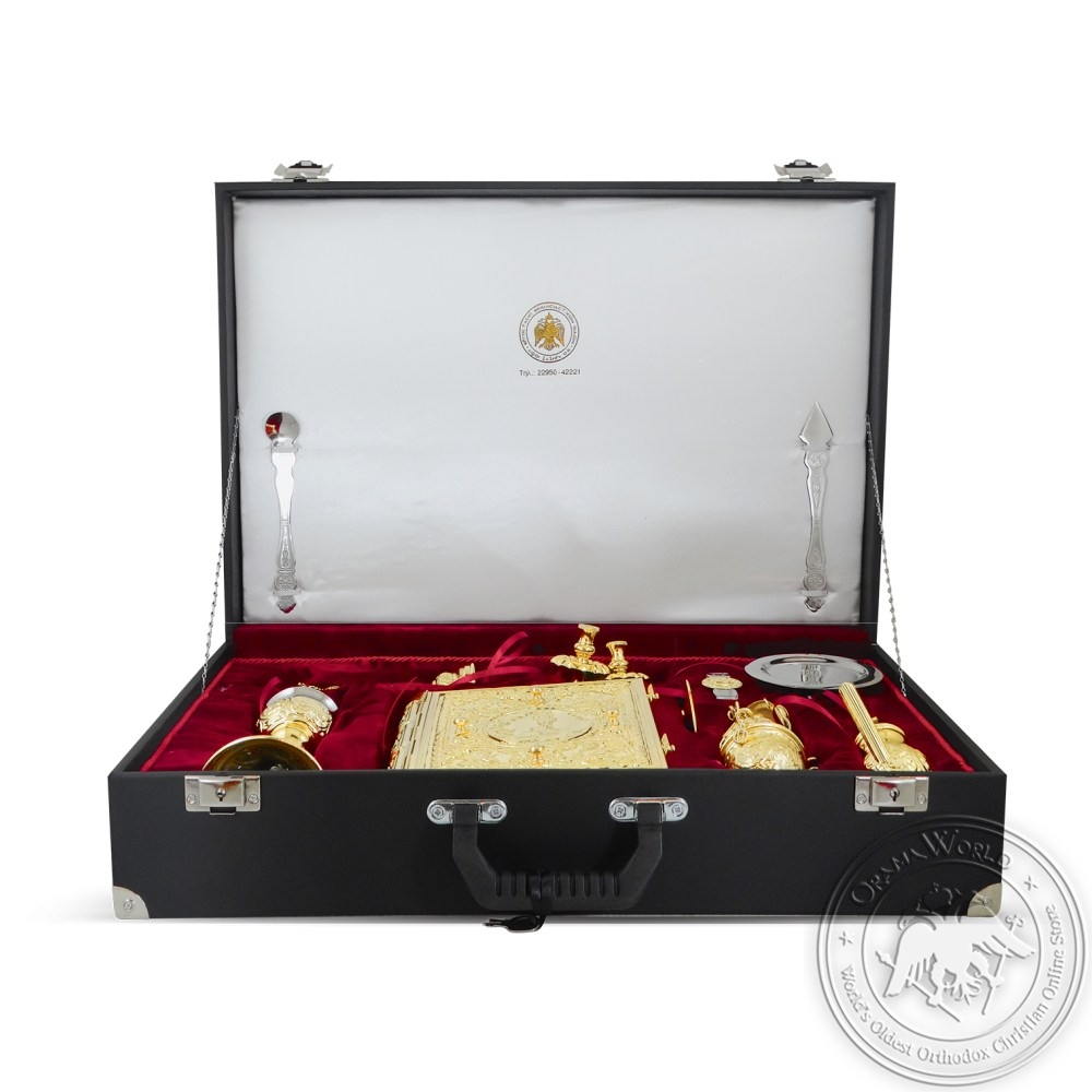 Suitcase for Holly Sets Gold Plated