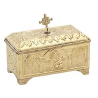 Byzantine Brass Reliquary