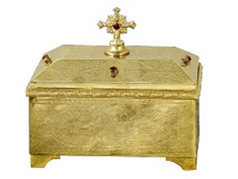 Reliquary B Gold Plated