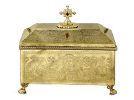Reliquary C Gold Plated