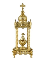 Tabernacle Molten B Gold Plated