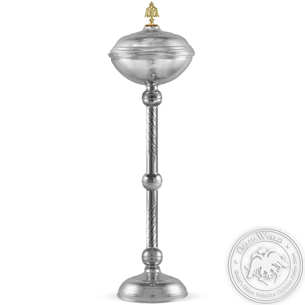 Basin for Holy Bread Silver Plated