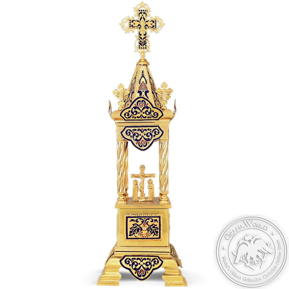 Tabernacle Enamel Gold Plated