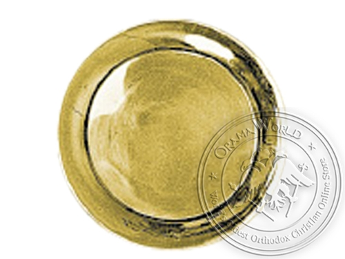 Collection Brass Tray 12in