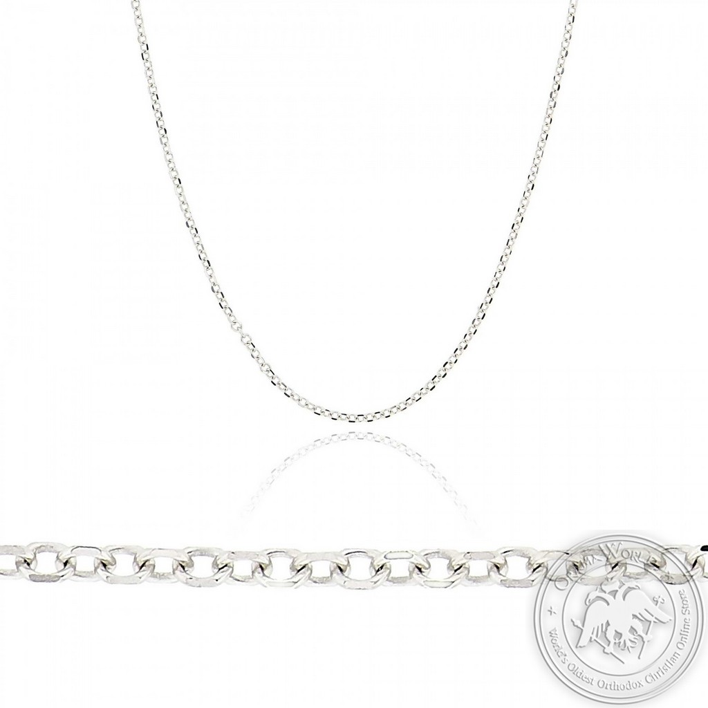 Chain made of 14K White Gold