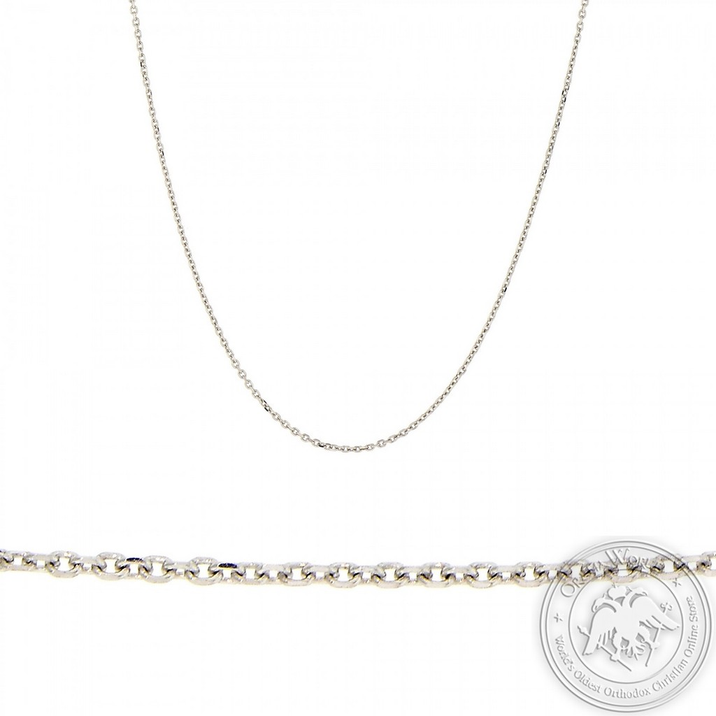 Chain made of 9K White Gold