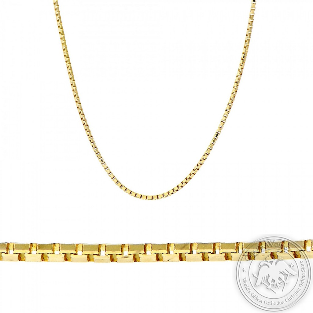 Chain made of 14K Yellow Gold
