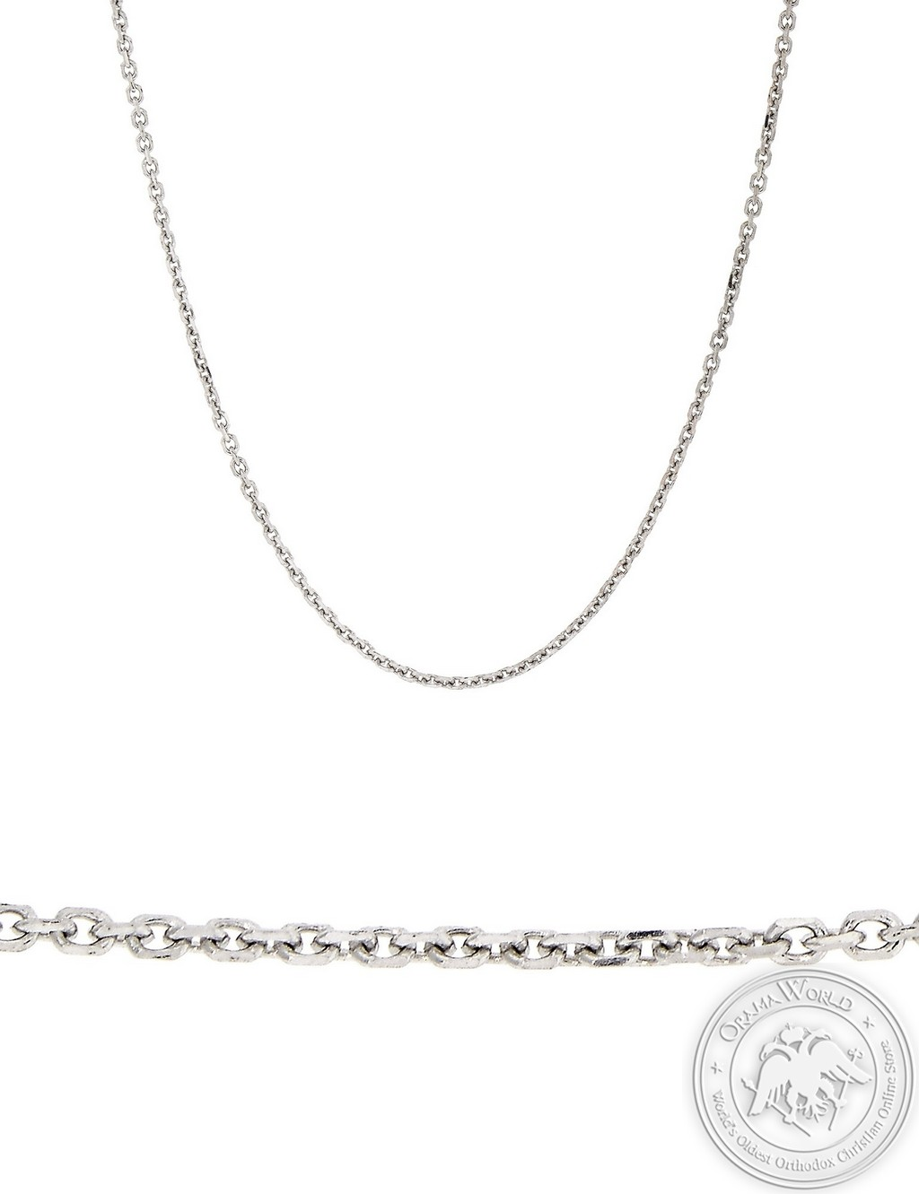 Chain made of 18K White Gold