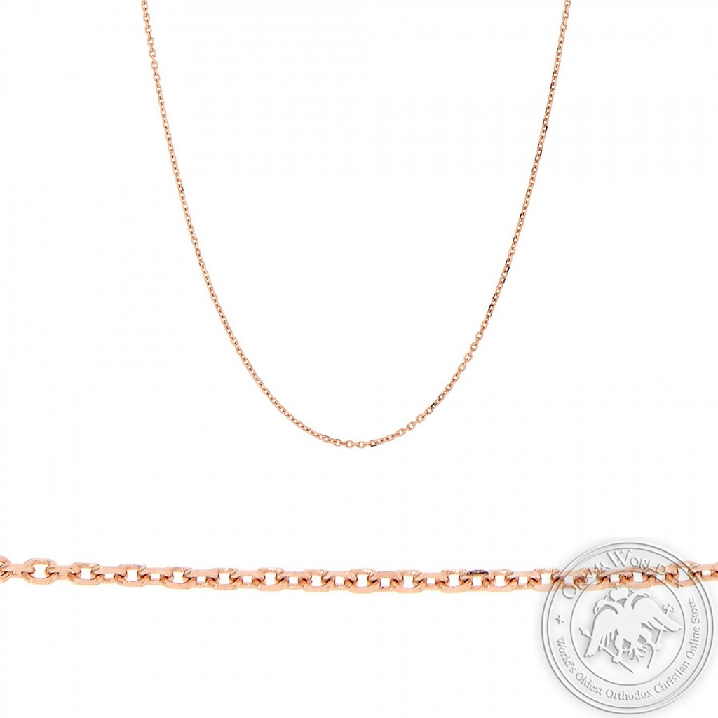 Chain made of 9K Pink Gold
