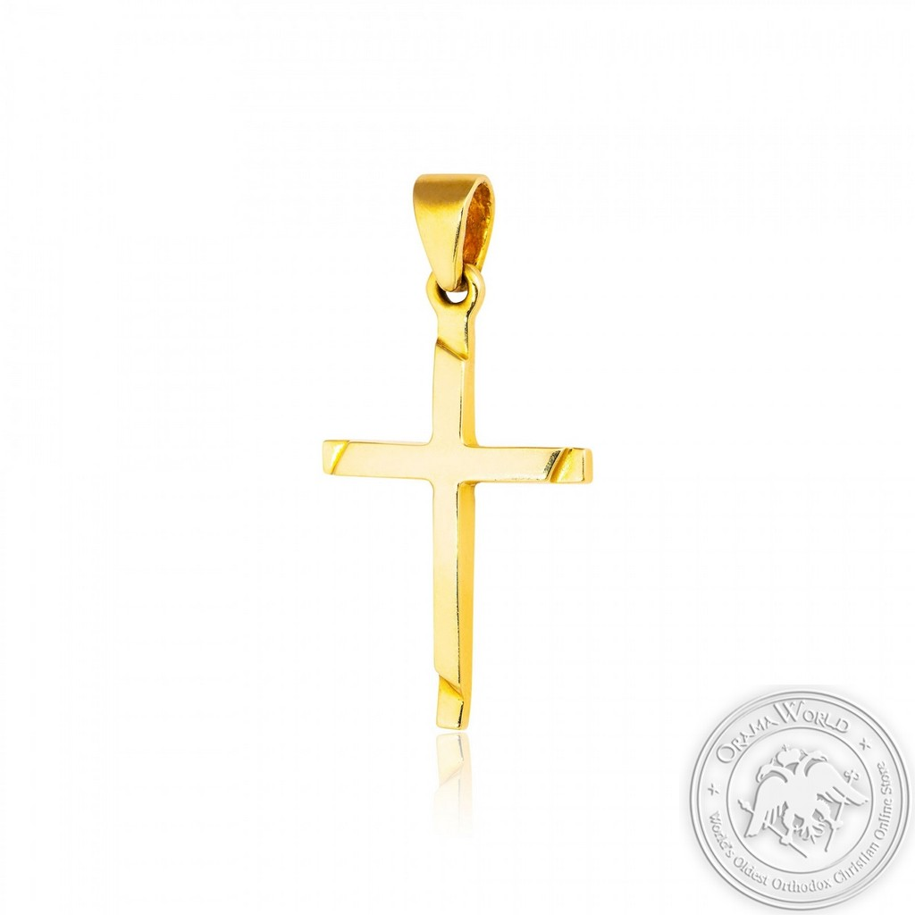 Cross made of 14K Yellow Gold