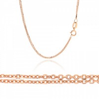 Double Chain made of 14K Gold