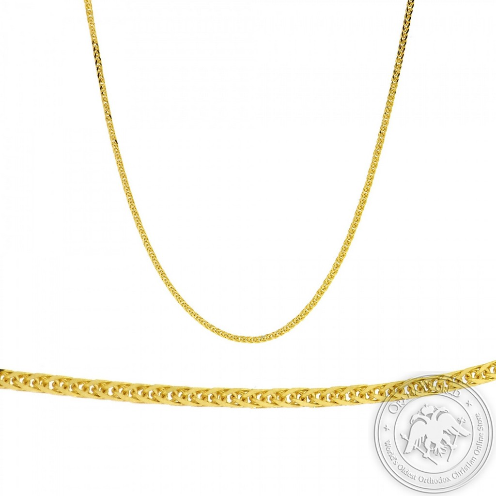 Ladies Chain made of 14K Yellow Gold