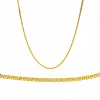 Ladies Chain made of 18K Yellow Gold