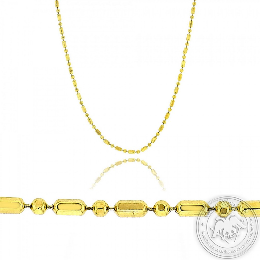 Ladies Neck Chain made of 14K Yellow Gold