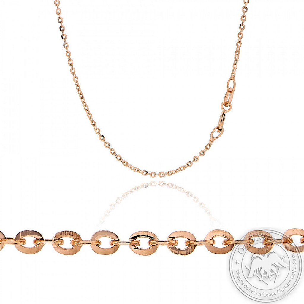 Neck Chain made of 14K Pink Gold