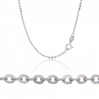 Neck Chain made of 14K White Gold