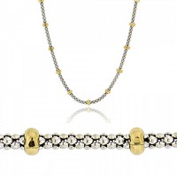 Neck Chain made of 14K Yellow and White Gold