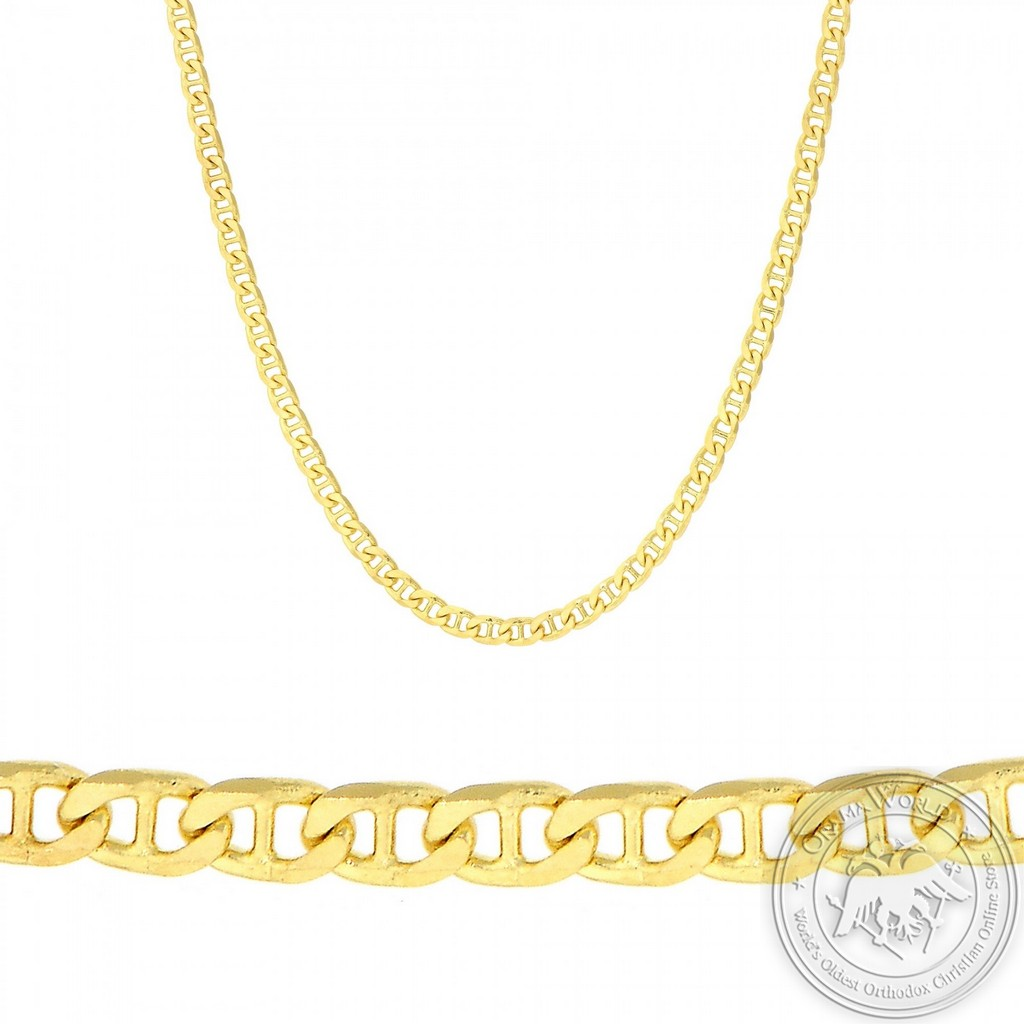 Neck Chain made of 14K Yellow Gold