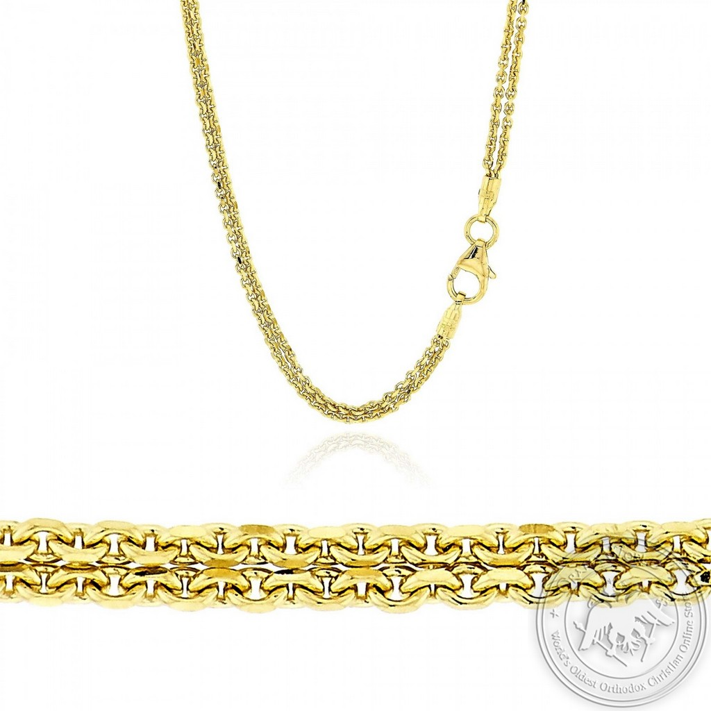 Neck Chain made of 18K Yellow Gold
