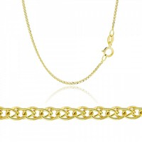 Spigga Chain made of 14K Yellow Gold