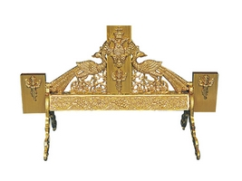 Cross Stand & Myroforon Aluminium Gold Plated