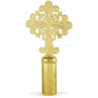 Banner Cross Gold Plated