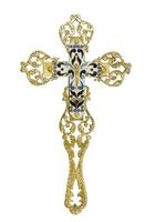 Blessing Cross Molten Enamel