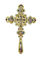 Blessing Cross Silver with Stones