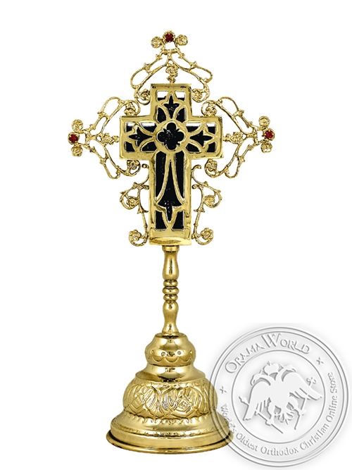 Sanctification Cross A Gold Plated