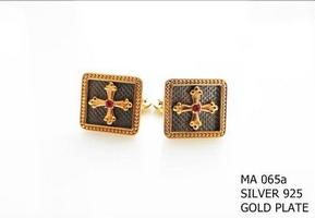 Silver Clergy Cufflinks - 065