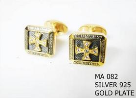Silver Clergy Cufflinks - 082