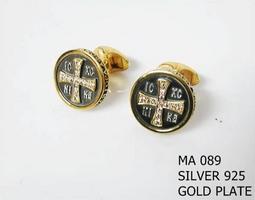 Silver Clergy Cufflinks - 089