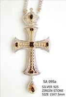 Silver Pectoral Cross - 095