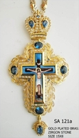 Silver Pectoral Cross - 121