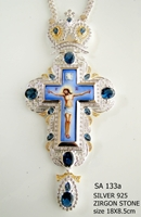 Silver Pectoral Cross - 133