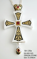 Silver Pectoral Cross - 135
