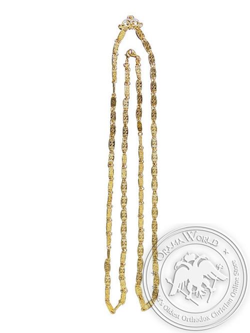 Pectoral Cross Chain Bronze