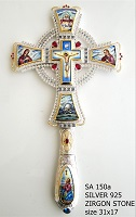 Silver Blessing Cross - 150